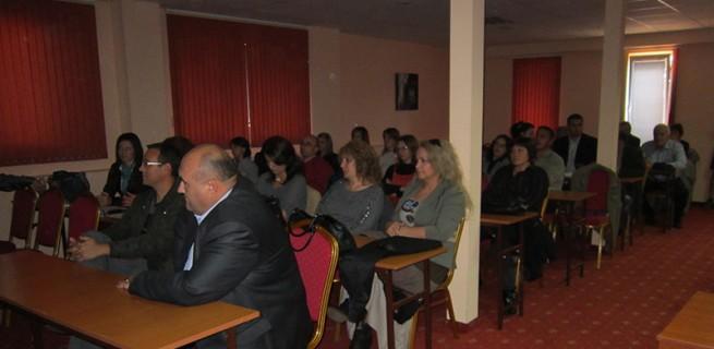Конференции по повод два проекта на община Сандански