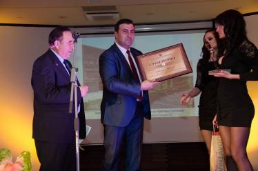 Връчиха годишните награди на БХРА за 2012 г.